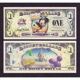 Disney Dollar P NL 2009 1 Dollar Grades Crisp UNC