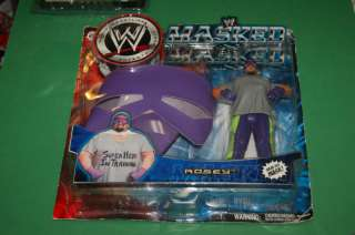 Jakks WWE WWF Rosey Masked Super Hero In Training mask