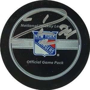 Ryan Callahan New York Rangers Autographed Puck