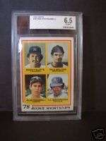 1978 TOPPS #707 PAUL MOLITOR ROOKIE BB CARD GRADED