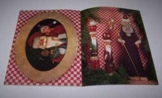 Decorative Arts Tole Painting Book Christmas Santa Elf