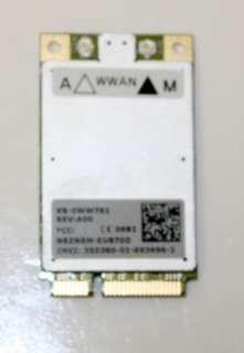New Dell Latitude D420 D430 2G 3G 5520 WiFi Card KX582