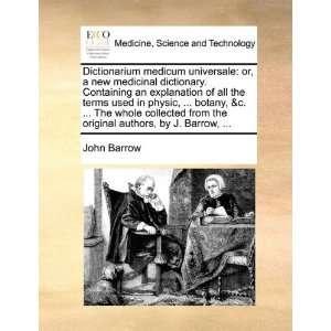 authors, by J. Barrow,  (9781170379639) John Barrow Books