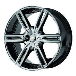 Diamo DI039 18x8 Black Chrome Wheel / Rim 5x4.5 & 5x120 with a 38mm