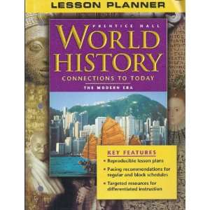 Lesson Planner for Prentice Hall World History