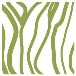 com Pattern   Zebra Stripes Stretched Wall Art Size 28 x 28, Color