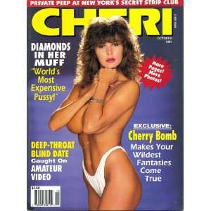 Cheri Magazine October 1991 Cherry Bomb: Books