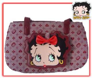 Betty Boop Face Designer Purse Style Dog Carrier