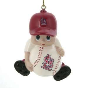 Pack of 3 MLB St. Louis Cardinals Little Guy Baseball