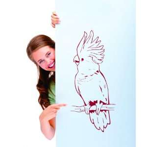 Removable Wall Decals  Bird on a branch (3)