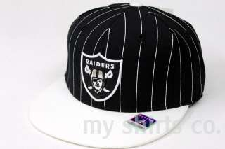 Oakland Raiders Black Grey White Authentic NFL Reebok Fitted Cap BRAND