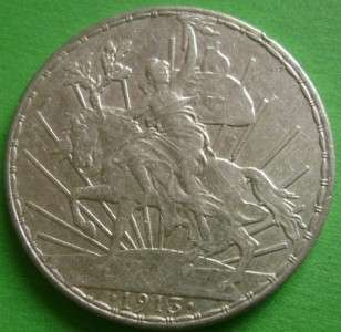 1913 MEXICO SILVER 1 PESO Caballito Mexican Coin Mo