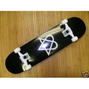 Bam Heartagram Price Pont Complete Skateboard 7.5:  Sports
