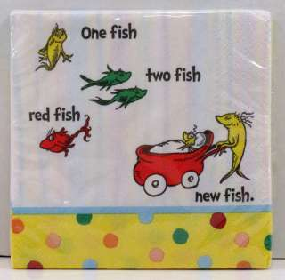 Dr Seuss Baby Shower Banner 8 Plates Cups 16 Napkins