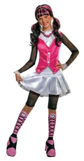 Deluxe Draculaura CHILD Costume Size M Medium 8 10 NEW Monster High