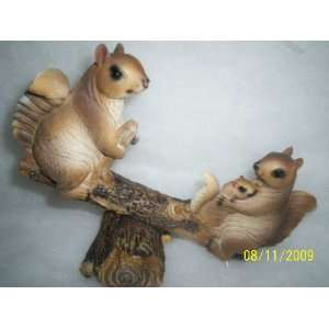 NUTTY FUN POLY RESIN COLLECTORS FIGURINE: Home & Kitchen