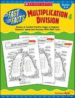 FAST FACTS MULTIPLICATION & DIVISION Math Gr 3, 4 NEW