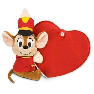 NWT Personalized Valentines Day DUMBO Plush Toy Doll 11 LOVE CARD