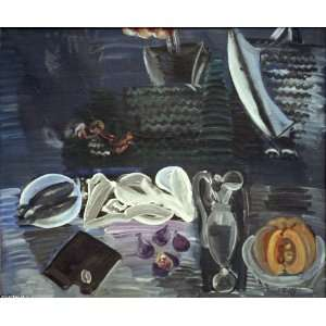 Hand Made Oil Reproduction   Raoul Dufy   24 x 20 inches