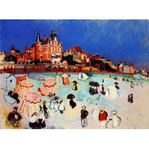 Hand Made Oil Reproduction   Raoul Dufy   32 x 24 inches