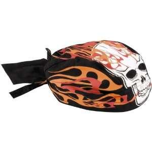 Zan Headgear Blazing Skull Flydanna Road Hog Harley