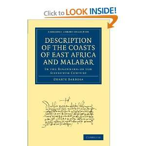 Series) (9781108010412): Duarte Barbosa, Henry E. J. Stanley: Books