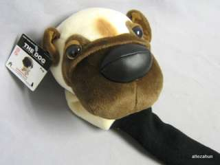 New The Dog Pug Golf Club Head Cover