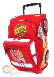Disney Cars Mcqueen Rolling Luggage, Travel Suite Case
