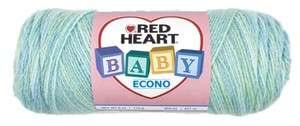Red Heart Baby Econo Yarn   Swim Multi