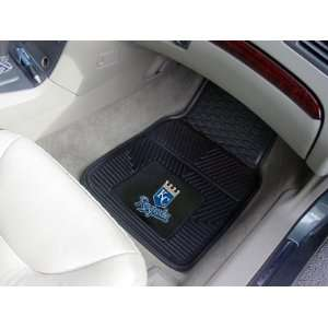 MLB Universal Fit Front All Weather Floor Mats   Kansas City Royals