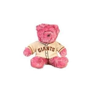 San Francisco Giants Special Team Logo Bear in Pink