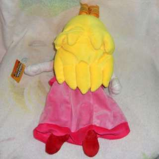 New Super Mario Princess Peach Plush Doll 7