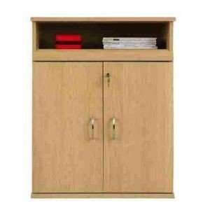 65651 2 Door Cabinet w/Pull out shelf Furniture & Decor
