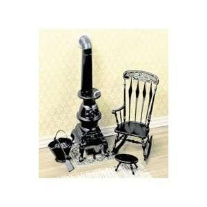 Miniature Pot Belly Stove and Rocker CHRYSNBON® Kit sold