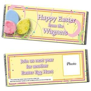 Easer Egg Personalized Phoo Candy Bar Wrappers   Qy 12