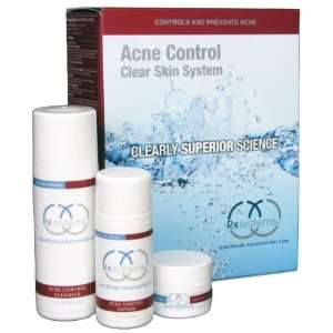 Rx Systems Acne Control Clear Skin System Beauty