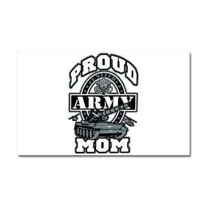 Car Magnet 20 x 12 Proud Army Mom Tank
