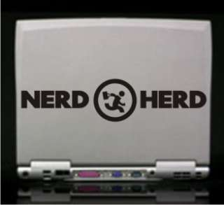 Chuck   Nerd Herd Logo Vinyl Decal Sticker   14 Colors