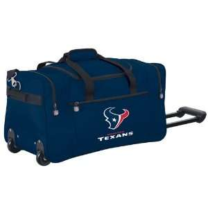 Houston Texans NFL Rolling Duffel Cooler by Northpole