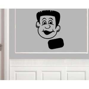 SILHOUETTE TEENAGER MALEvinyl Decal Wall Sticker Mural