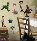 Toy Story 3 Peel N Stick Wall Stickers Decals Cast 1428