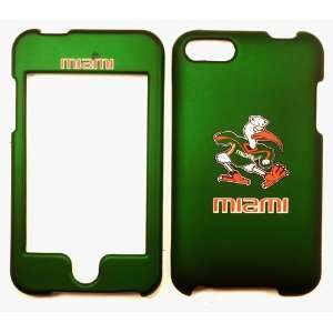 Miami Hurricanes Apple Ipod Touch 2 Faceplate Case Cover