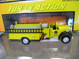 MTH Rail King Die Cast Fire Truck   MTH FD Yellow |
