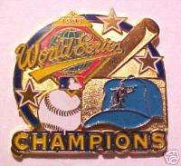 Florida Marlins World Series Champs MLBB Baseball Pin