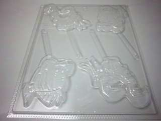 FLOUNDER & SEBASTIAN LITTLE MERMAID CANDY MOLD *