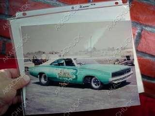 1969 Hot Rod RACING PHOTO NHRA Funny Car FLYING DUTCHMAN DODGE HEMI