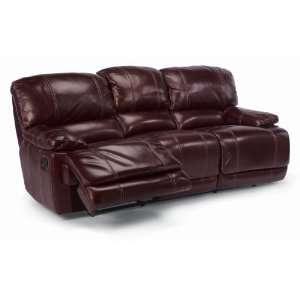 Flexsteel 1250 62 Belmont double Reclining Sofa