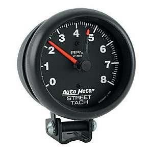 Auto Meter 2894 Black 3 3/4 8000 RPM Street Tachometer