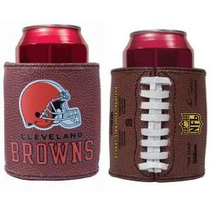 CLEVELAND BROWNS Football Can Holder