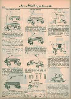 1927 Raven racer Oriole Flyer Pioneer Coaster Wagon ad